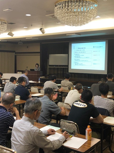 8月3日 理論政策更新研修(長野会場)